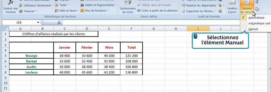 utiliser Excel